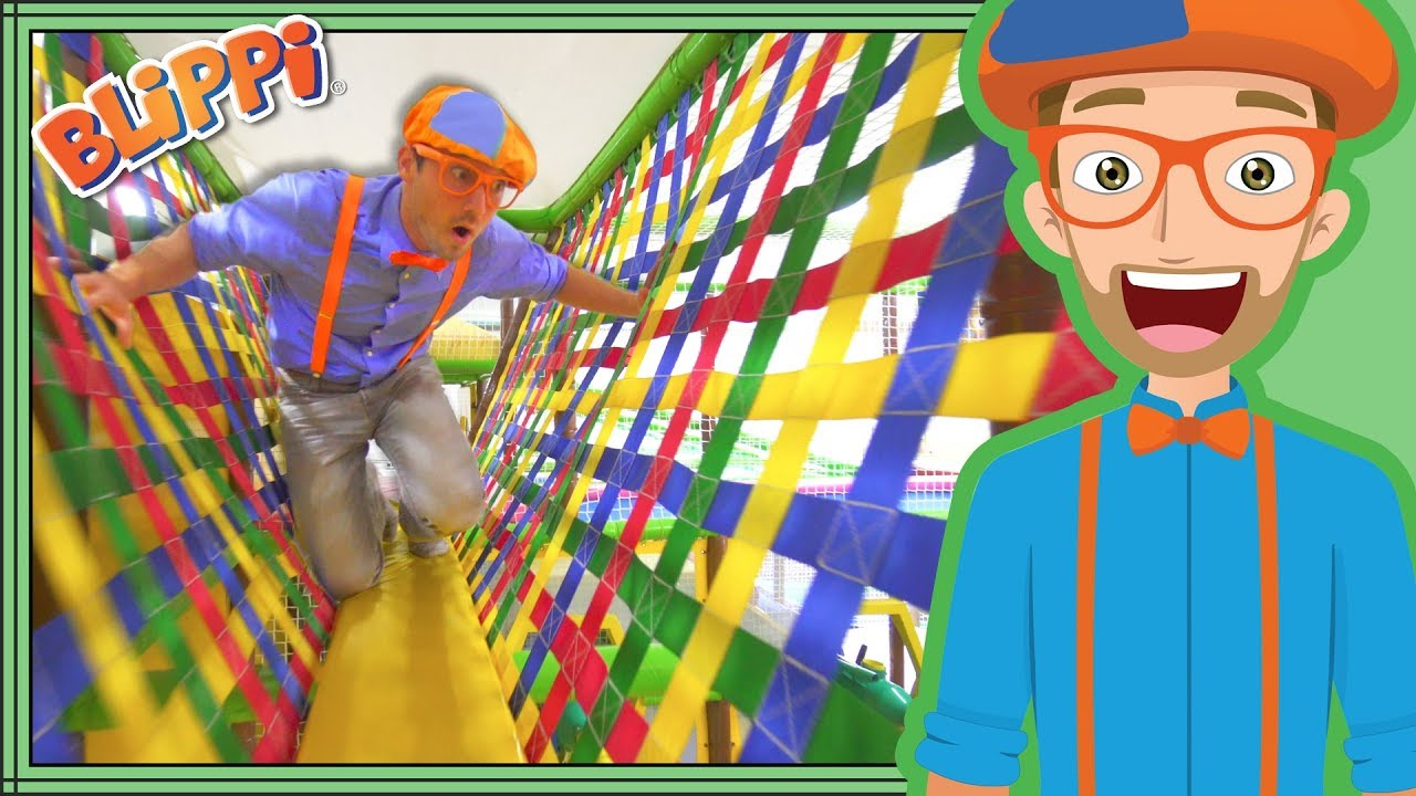 Learning With Blippi At The Play Place Ultimate Playground