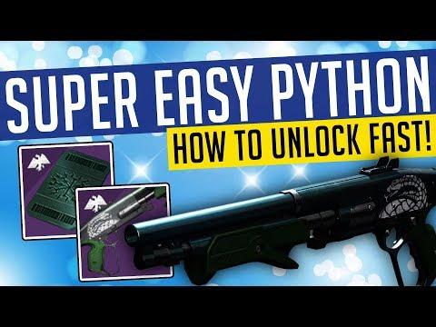 Destiny 2 | SUPER EASY PYTHON! Fastest Way To Get Gambit Ritual Weapon! thumbnail