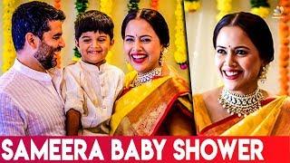 Sameera Reddy Baby Shower Celebrations I Latest Tamil Cinema News