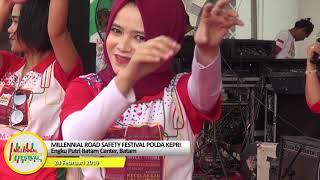 MILLENNIAL ROAD SAFETY FESTIVAL JAJARAN POLDA KEPRI