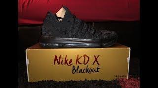 "KD 10 ""Blackout"" 2 months ago"