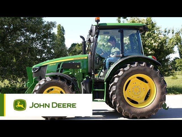 Tracteur série 5M John Deere - Détails