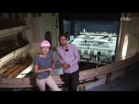 Reportage uber den Saniersarbeiten Staatsoper Unter den Linden