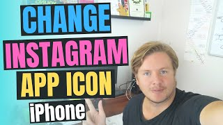 How To Change Instagram Icon On IPhone 2020