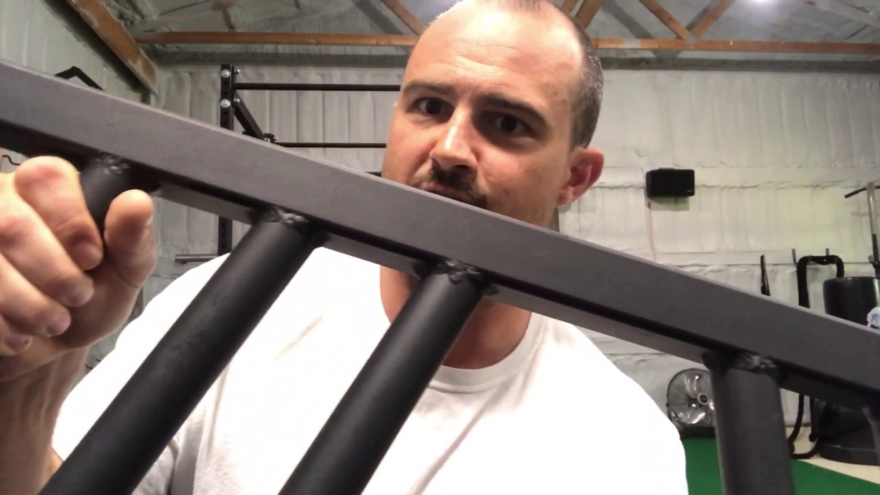 Black Widow Multi-grip Angled Swiss Bar Review - YouTube