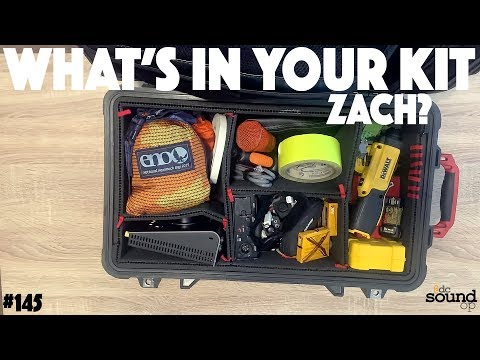 #145 - Pelican Unpack - What's In YOUR Pro Audio Kit W/ Zach