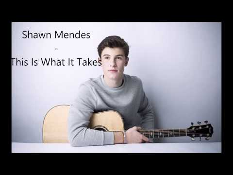 Shawn Mendes - This Is What It Takes