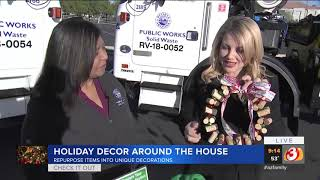 VIDEO: Holiday decor around the house