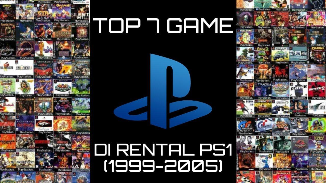 7 GAME TERPOPULER DI RENTAL PS1 JAMAN DULU - YouTube