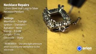 Silver Necklace Repair - Jewelry Welding