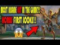 NEW GOD HORUS INSANE ULT COMBO! First Looks PTS Gameplay Ft. Solodoublej
