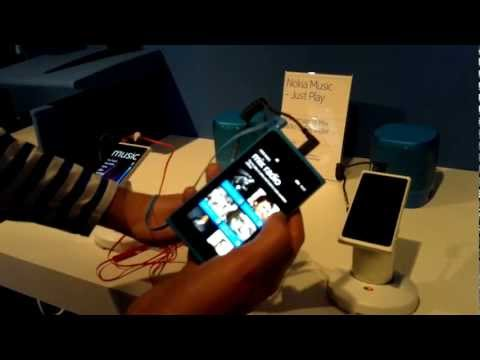 Nokia Music-Entertainment on the Lumia range (Demoed on the Lumia 900) #NokiaEntertainment
