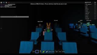 ROBLOX Cinema watching Poseidon 2 The Movie! Part 1