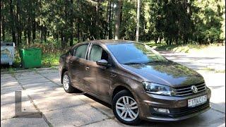 Честный обзор владельца Volkswagen Polo Sedan 2018 1.6 mpi
