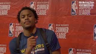 Rookie Moses Moody sums up his Summer League experience