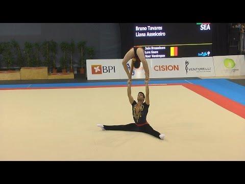 Ginástica: Maia International Acro Cup 2016
