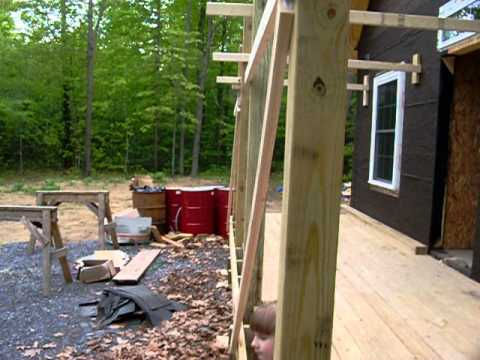 6x6 posts plumb and ready