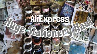 Huge Stationery Haul (ft. AliExpress)