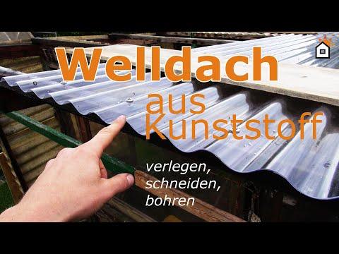 wellplatte-aus-acryl,-pvc,-polycarbonat-verlegen,-schneiden,-bohren