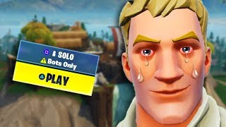 How To Get Into *BOT LOBBIES* In Fortnite! (WORKS ON ALL PLATFORMS!)
