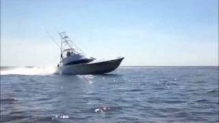 Spencer Yachts 60' hull 185 sea trial
