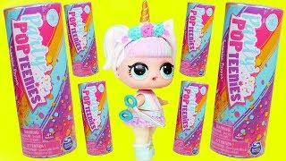 LOL Surprise Bon Bon Family open PARTY POPTEENIES™ Confetti …