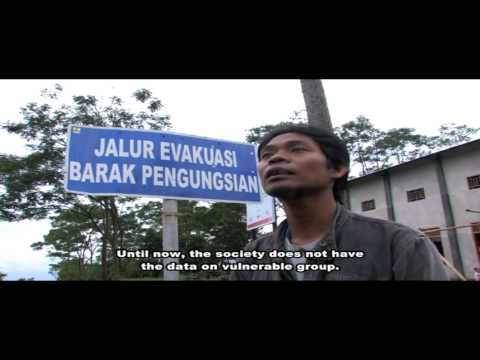 Inclusive Early Response Mt. Merapi Eruption