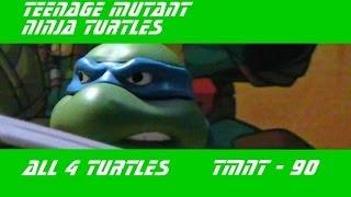 TMNT Черепашки ниндзя - Все 4 подвижные фигурки! (Action Figures)