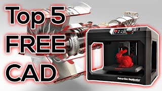 Top 5 FREE CAD Programs - for 3D Printing thumbnail