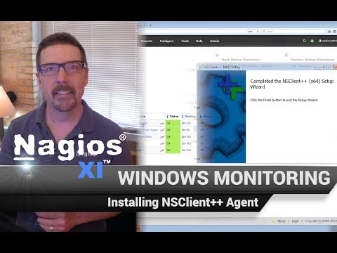 Nagios XI - Windows Monitoring - Installing NSClient++ Agent