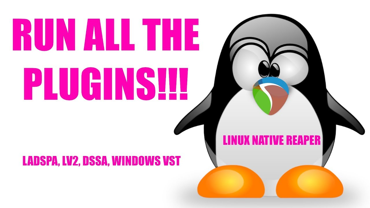LADSPAs, LV2s and Windows VSTs in Reaper Linux Native Using Carla