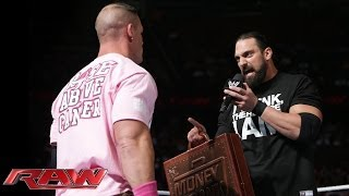 John Cena vs. Damien Sandow - World Heavyweight Championship Match: Raw, Oct. 28, 2013