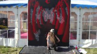 "Meln - ""Champotes"" live act painting 2010"
