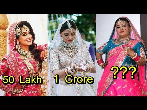 Most Expensive Wedding Dresses of Television Actress 2018