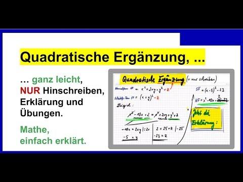 Schön Quadratische Ergänzung Praxis Arbeitsblatt Ideen ...