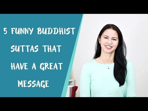 5 Funny Buddhist Suttas That Have a Great Message