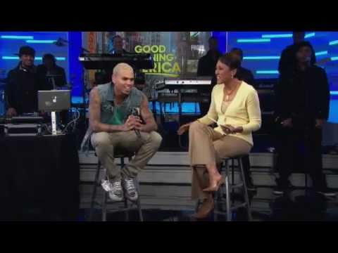 Chris Brown Angry On Good Morning America Interview full story