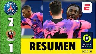 PSG 2-1 Nice. ¡LISTO para la CHAMPIONS! El líder en Francia ganó y se viene el Barcelona. | Ligue 1