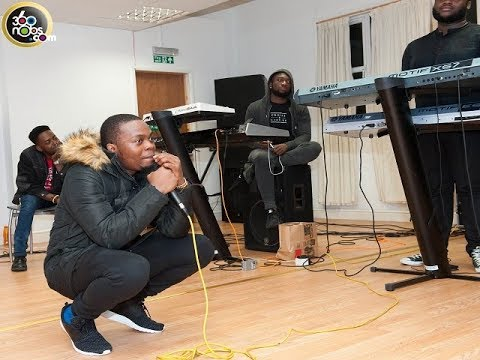 Watch Olamide Freestyle His New Single Update And Wo In His Studio And His Car