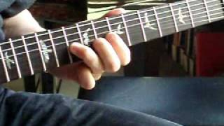 please mr postman guitar lesson solo slow