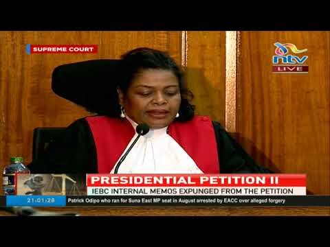 Supreme court admits attorney general as an interested party in Presidential petition