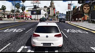 ► GTA 6 Graphics - ✪ REDUX - VW Golf GTI MK7! Gameplay! Ultra Realistic Graphics MOD PC -1080p60 FPS