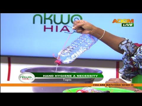 Hand Hygiene a Necessity? - Nkwa Hia on Adom TV (17-10-20)