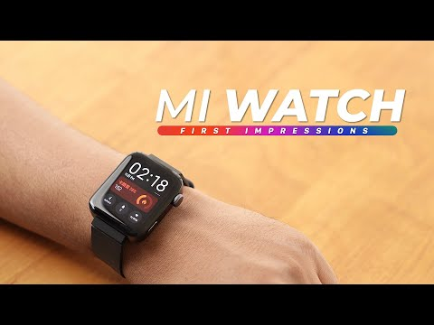 Mi Watch First Impressions!