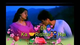 Hatho Ki Lakiro Me Likha Hai Tera Mera Dilka Rishta Hai | WhatsApp Status Video Song