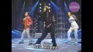 S.E.S. - Motto (Original. タンポポ) S.E.S. with 八反安未果 - Movin'...