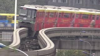 Монорельс , Легкое метро,  Общественный транспорт в Китае...