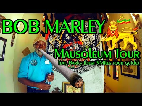 Bob Marley Mausoleum Tour 2017 Nine Miles-JAMAICA-Birthplace-Grave Vlog 1080p 420FPS