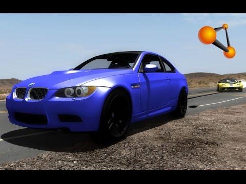 BeamNG.Drive Mod : BMW M3 E92 2008 (Crash Test)