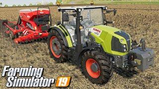 Talerzowanie i siew - Farming Simulator 19 | #2